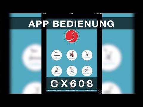 Sportstech CX608 - App Bedienung
