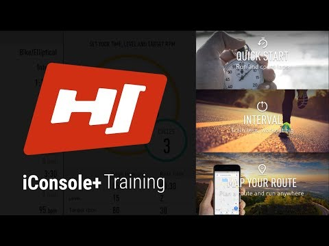 Application iConsole+training | Hop-Sport