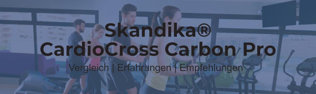 Skandika Crosstrainer CardioCross Carbon Pro