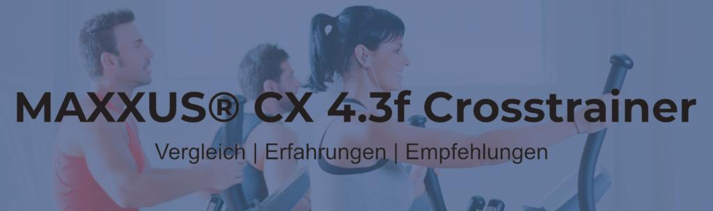 Maxxus Crosstrainer CX 4.3f