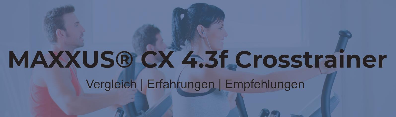 MAXXUS CX 4.3f CROSSTRAINER – klappbar (Ellipsentrainer)