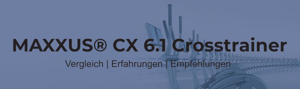 Maxxus Crosstrainer CX6.1