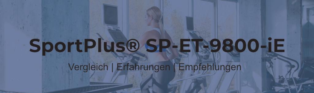 Sportplus Crosstrainer SP-ET-9800-IE