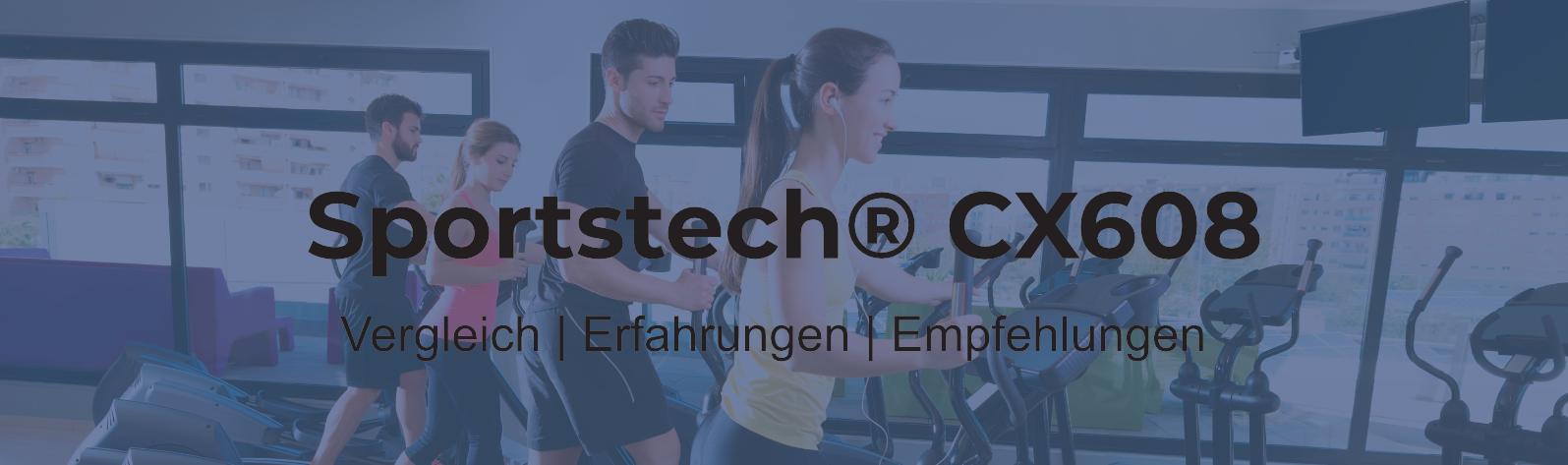 Sportstech CX608® Crosstrainer - erschwingliches Premium-Training?