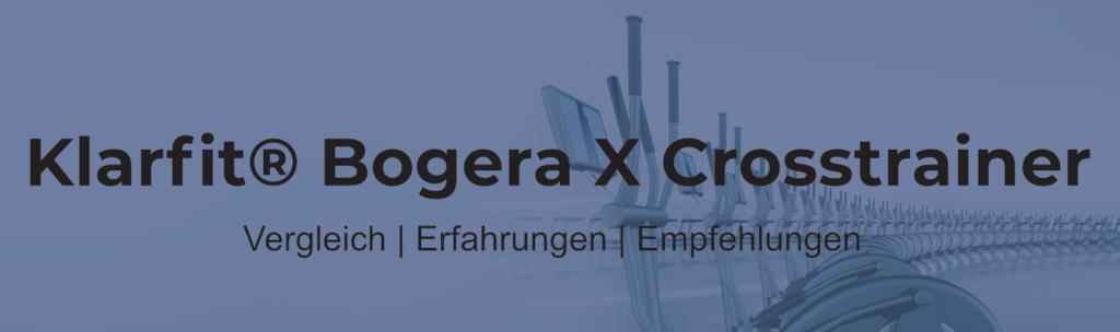 Klarfit Bogera X Crosstrainer mit Trainingscomputer
