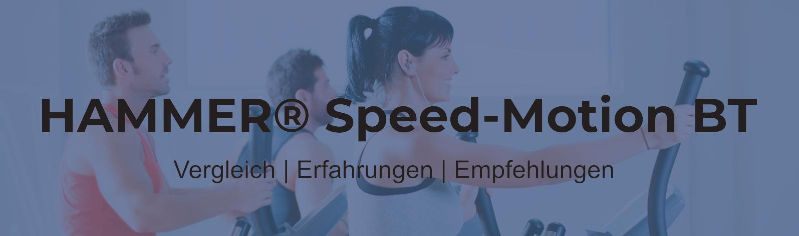 HAMMER Premium Speed-Motion BT® Ellipsentrainer