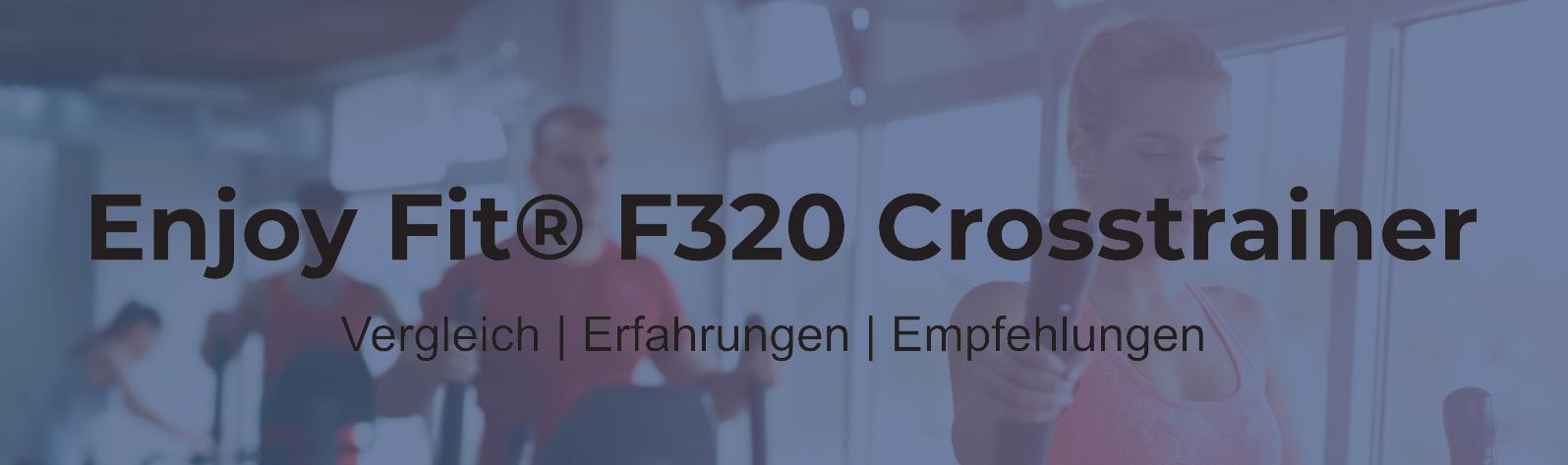 Hansson.Sports Crosstrainer Modell EnjoyFit F320