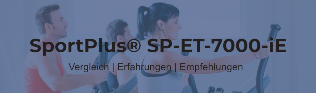 sportplus ellipsentrainer test