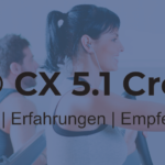 MAXXUS CX 5.1 Crosstrainer – ideal für große Leute
