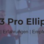 AsVIVA E3 Pro® Ellipsentrainer – Robustheit mit kleinen Abstrichen
