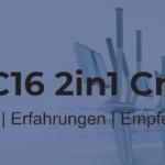 AsVIVA C16® 2in1 Crosstrainer – Abwechslung pur!