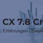 Maxxus CX 7.8® Crosstrainer – hohe Traglast trifft Komfort