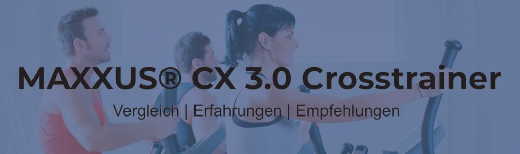 Maxxus CX 3.0® Crosstrainer - Trainingskomfort auf kleinem Raum