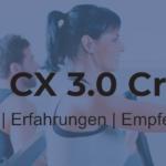 Maxxus CX 3.0® Crosstrainer – Trainingskomfort auf kleinem Raum