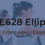Nautilus E628® Ellipsentrainer – interaktives High End-Gerät mit komfortabler Steuerung